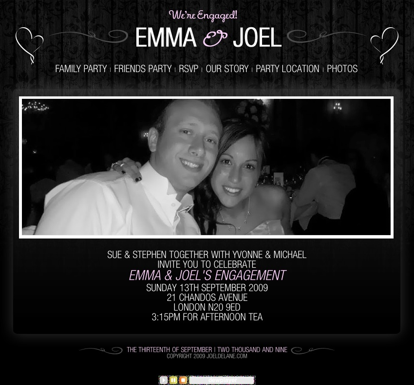Emma & Joel's Engagement