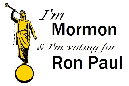 I'm Mormon, and I'm voting for Ron Paul