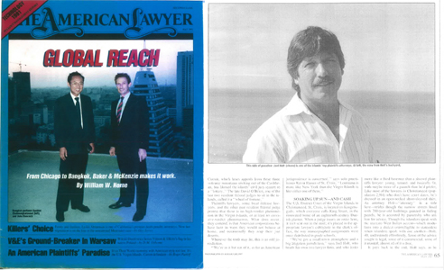 American Lawyer 1991 Joel Holt