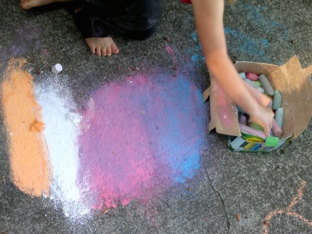 Chalk box.