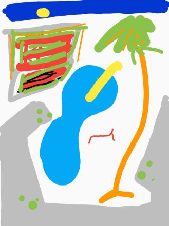 LA Pool after Hockney