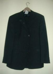 navy Burton suit