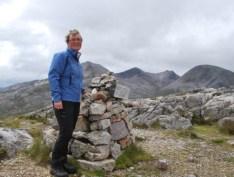 climbing Beinn Eighe