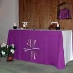 purple altar