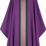 purple chasuble