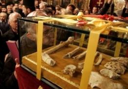 The bones of a saint
