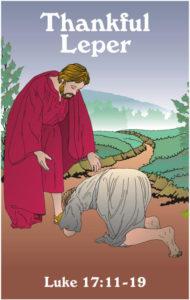 lepers healed