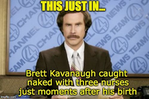 kavanaugh - first scandal