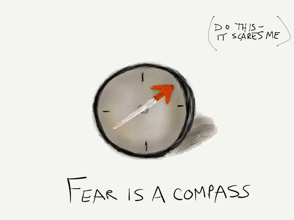 Fear is a Compass
