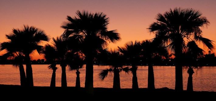 A california sunset