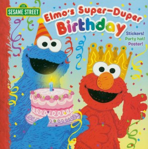 Elmo's Super-Duper Birthday cover