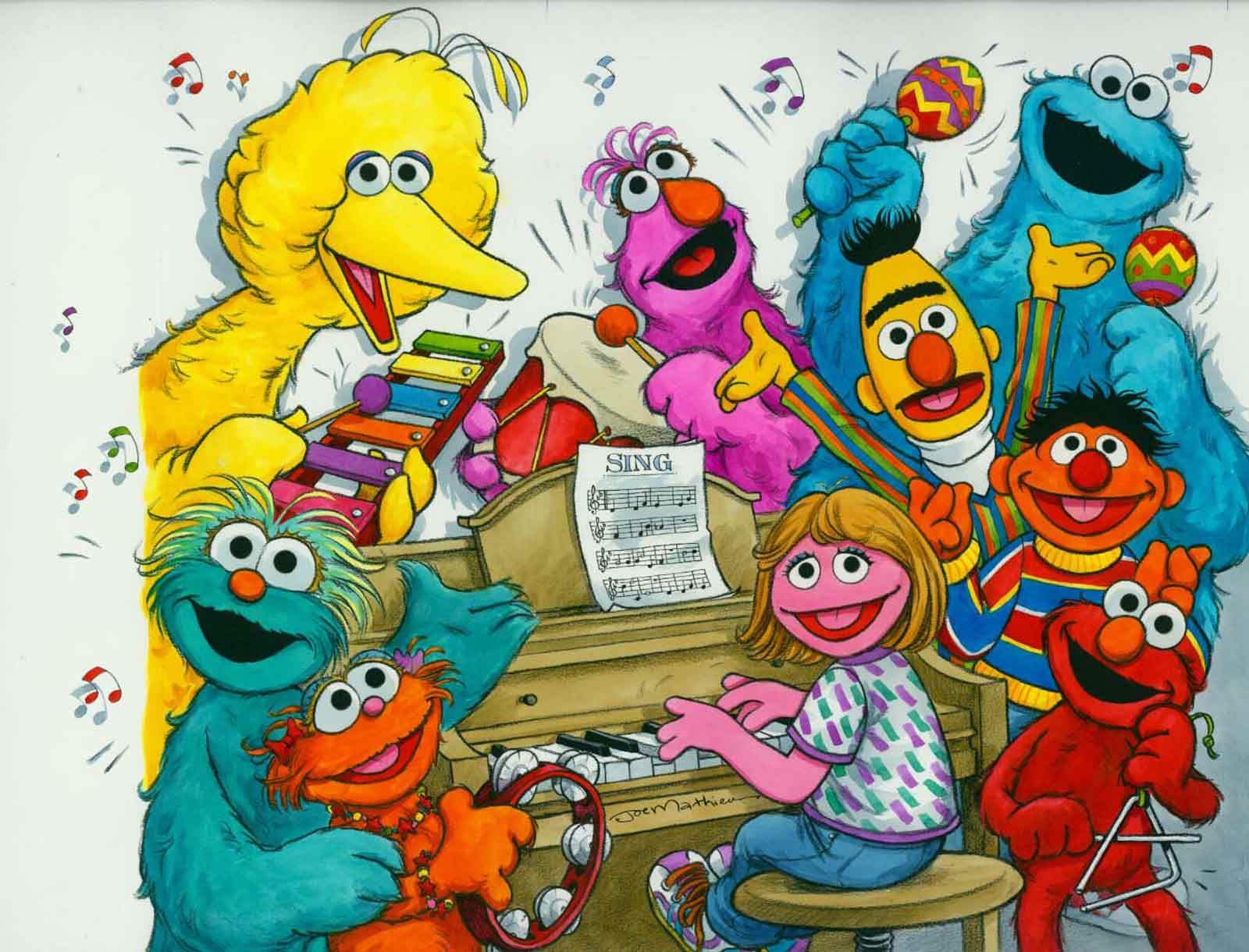 Sesame Street Sing