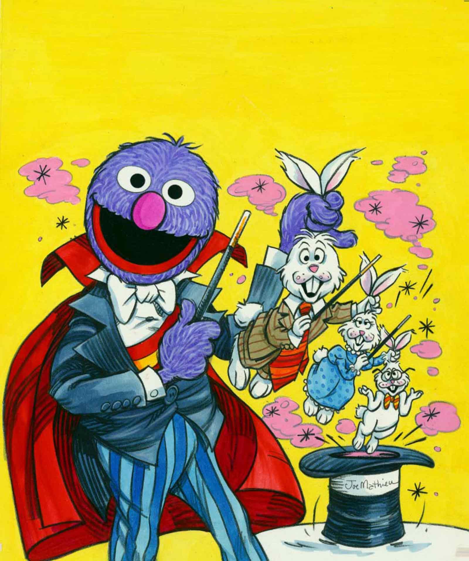Grover the Magician