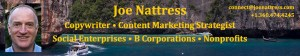 Joe Nattress Copywriter Content Marketing Strategist