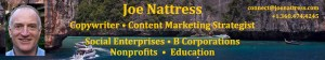 Joe Nattress Copywriter & Content Marketing Strategist