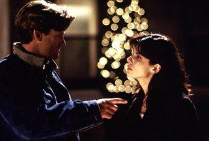 WHILE YOU WERE SLEEPING -- NBC Theatricals -- Pictured: (l-r) Bill Pullman, Sandra Bullock -- Photo Provided By: Hollywood Pictures