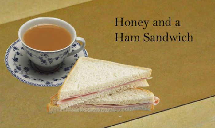Honey and Ham Sandwich
