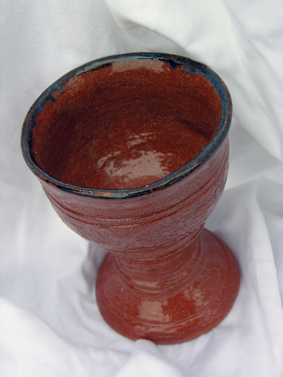 Cecelia Pippin Pottery - Goblet - 7 inches (2)