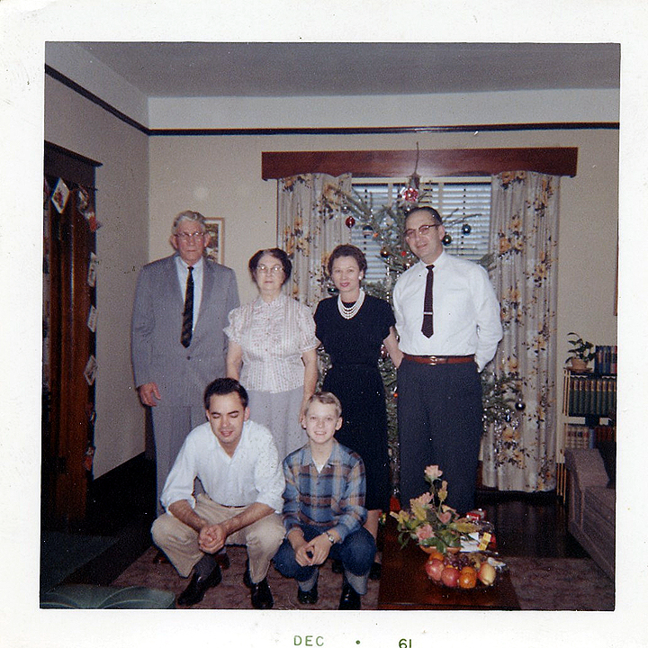 Daddy Rufus & Grandma Couch, Hallie, Wanda, Don & Joe
