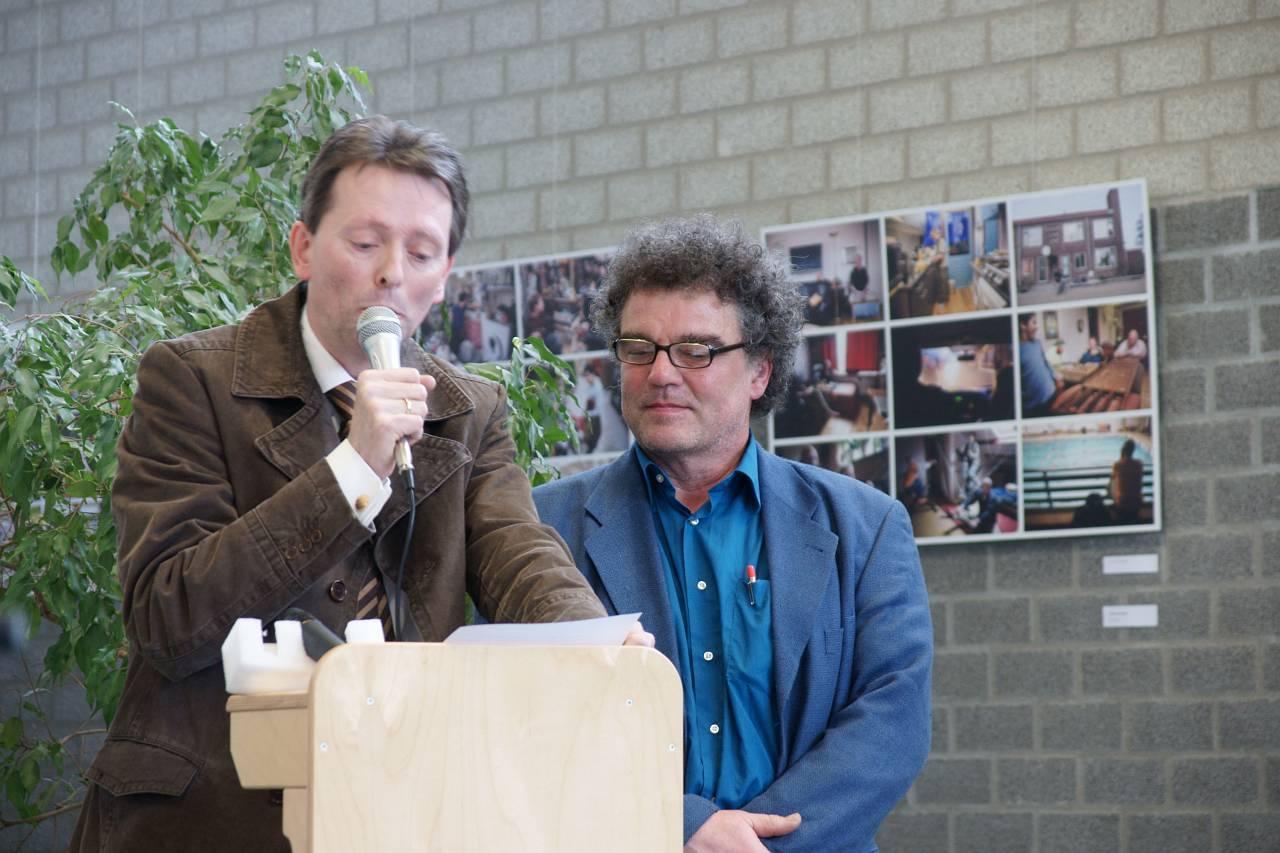 Joep Zander en Jo Huijts