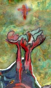 het belang van het kind; schilderij van Joep