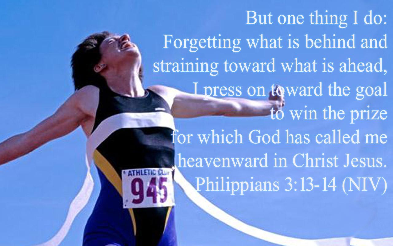 Let S Win The Race Philippians 3 12 16