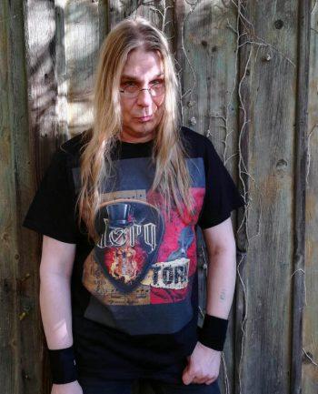 """T-Shirt """"Torn"""" bk XL"""