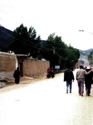 Straßenansichten, Gansu © Kruth 2001