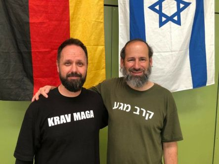 Moshe Katz und Jörg Siegwarth IKI Krav Maga