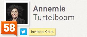 Annemie Turtelboom Klout
