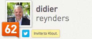 Didier Reynders Klout