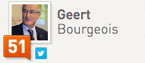 Geert Bourgeois Klout