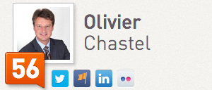 Olivier Chastel Klout