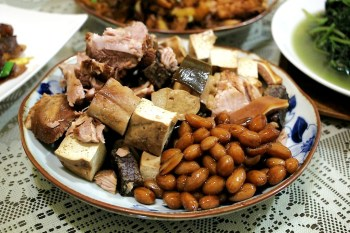 台中西區,傅記上海小菜,滷味熱炒加上獨特醬汁更入味。