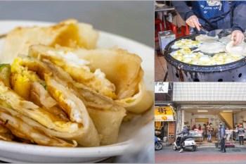 台中南屯,南屯老街裡的古早味蛋餅....