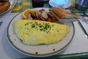 Nothern Italian Omelette - Mama's On Washington Square, San Francisco, CA