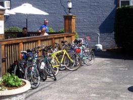 Bikes at Boscos