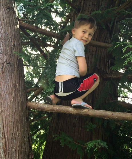 Charles the courageous climber