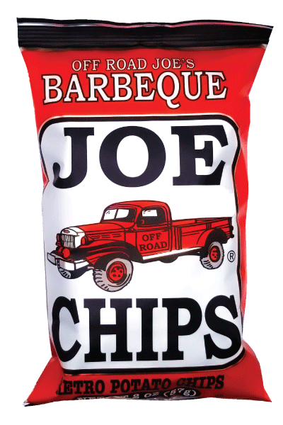 Joe kettle cooked potato chips bbq barbeque