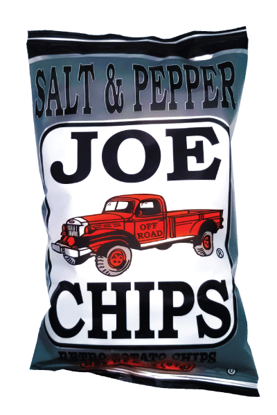 Joe kettle cooked potato chips salt and pepper