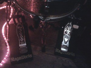 Stageworks Mats In Action On My Drum Kit