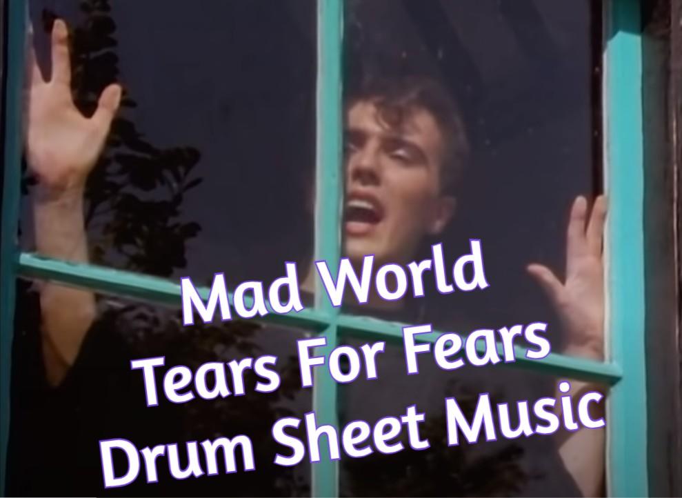 Mad World Drum Sheet Music