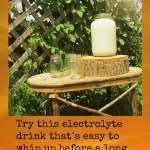 Ditch the Gatorade and Make my Son's Homeopathic Electrolyte Drink
