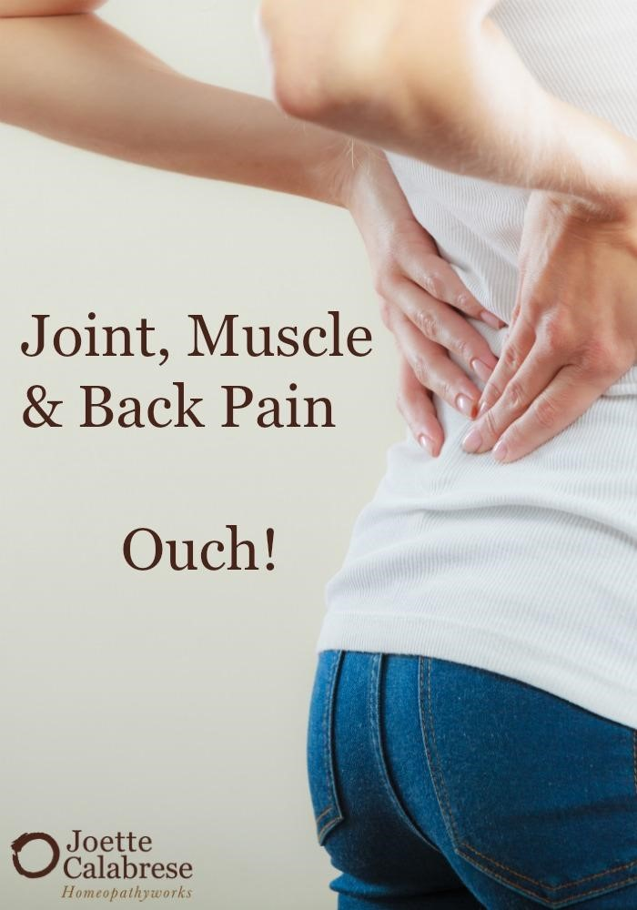 joint, muscle, back pain
