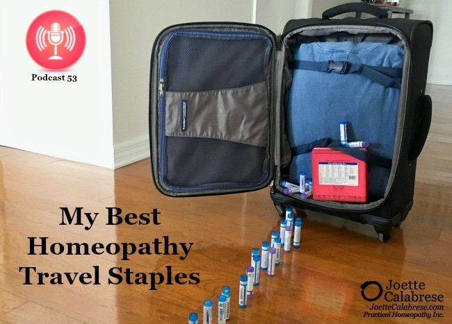 Homeopathic s to have when traveling