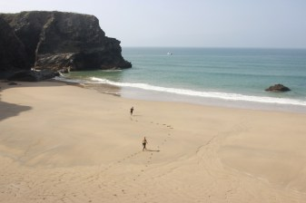 Bedruthan, such an awesome beach.