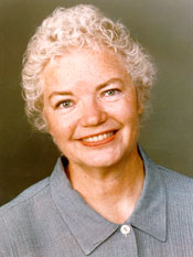 Molly Ivins head shot