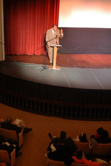 Milton Dohoney during MLK speech at Carnegie