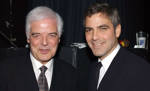 Nick and George Clooney