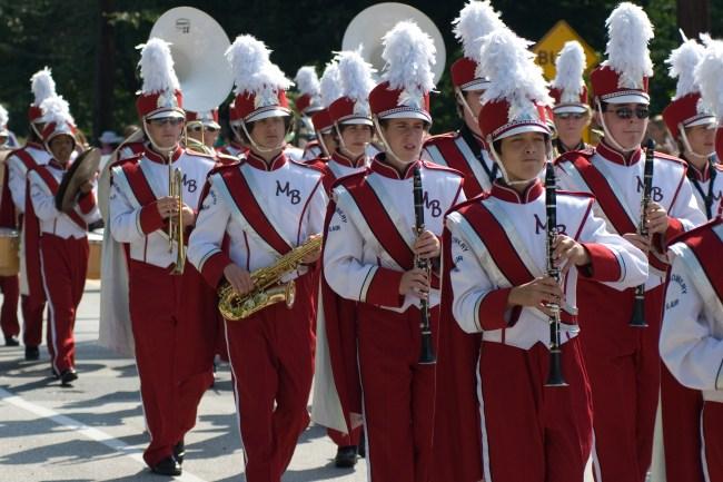 Labor Day Parade 2007 Marching Band